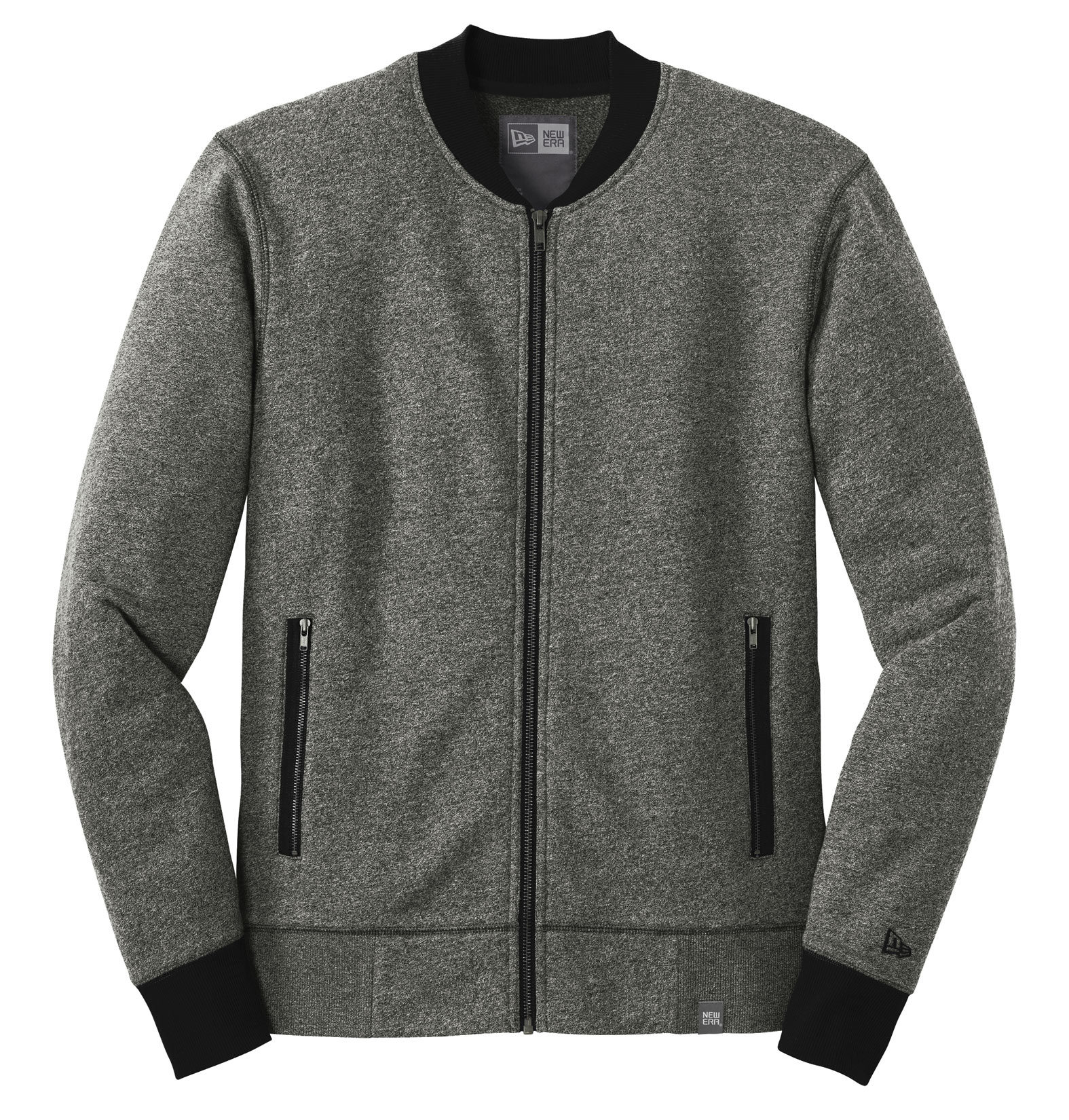 New Era® Adult French Terry Baseball Full-Zip