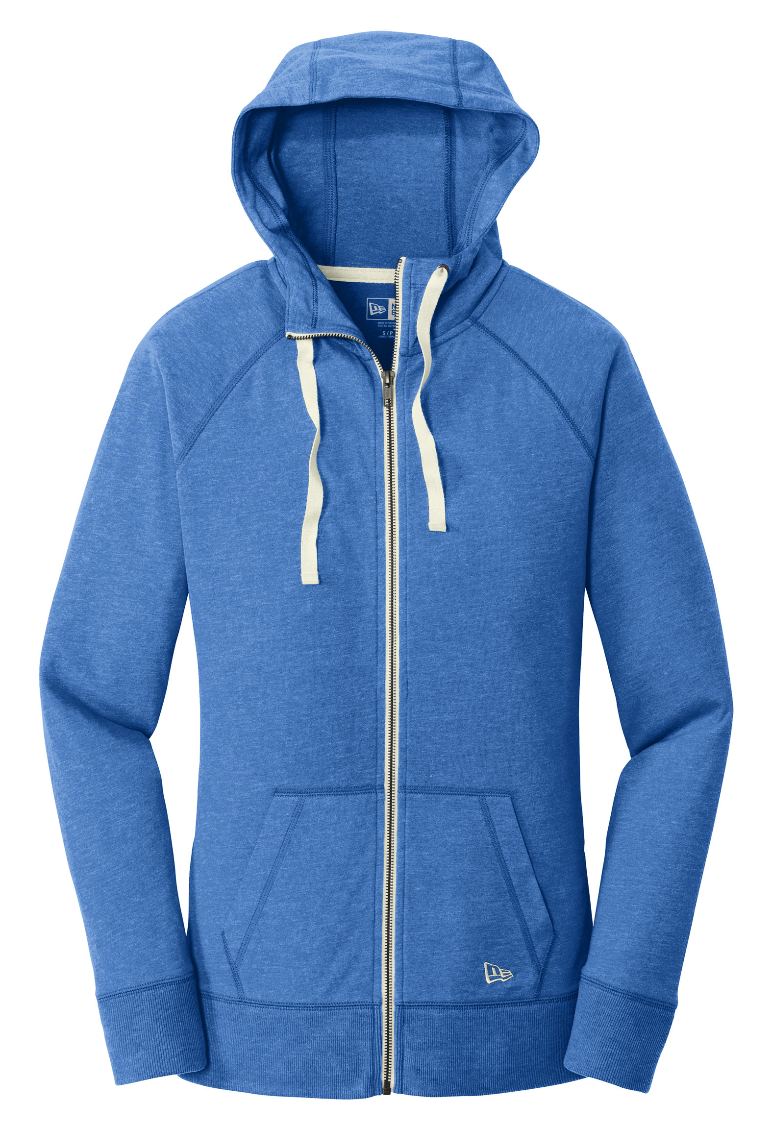 New Era Sueded Ladies Cotton Full-Zip Hoodie