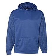 Custom Badger Mens Sport Tonal Blend Fleece Hood