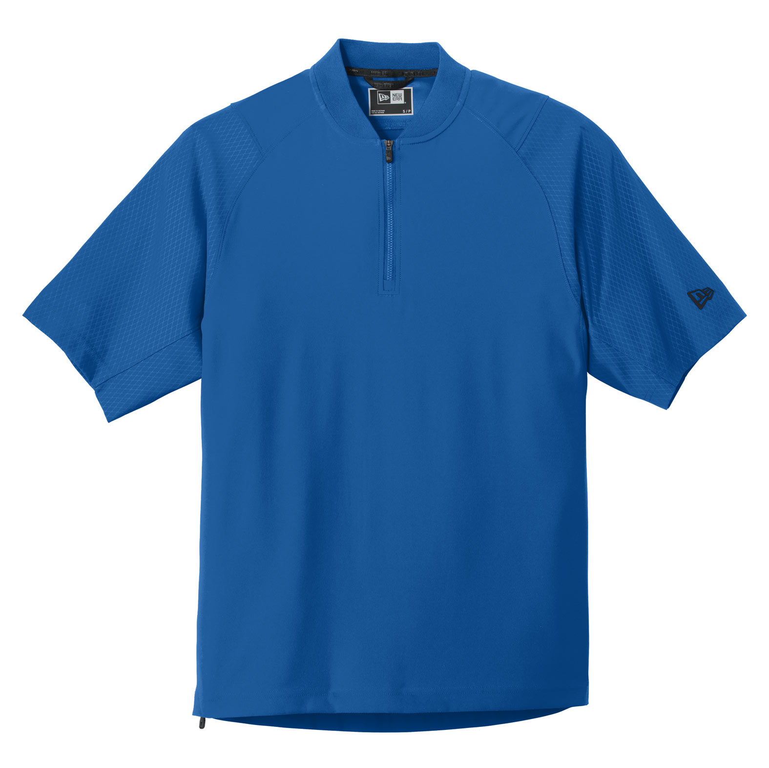 New Era® Adult Cage Short Sleeve 1/4-Zip Jacket