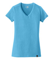 Custom New Era® Ladies Heritage Blend V-Neck Tee