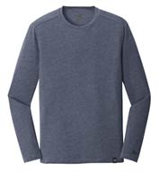Custom New Era® Mens Heritage Blend Long Sleeve Crew