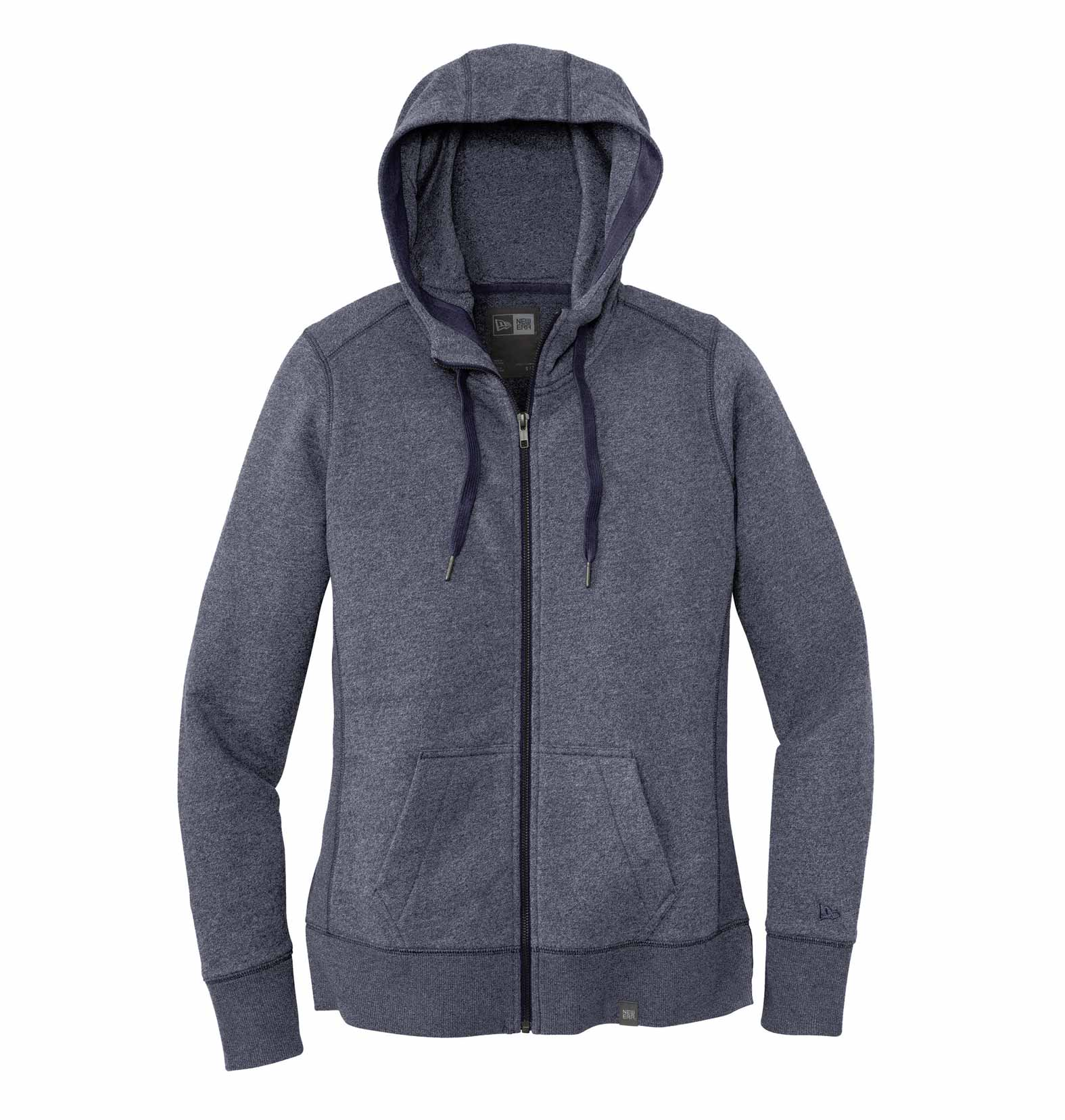 0db09483c2a New Era® Ladies French Terry Full-Zip Hoodie