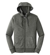 Custom New Era® Mens French Terry Full-Zip Hoodie