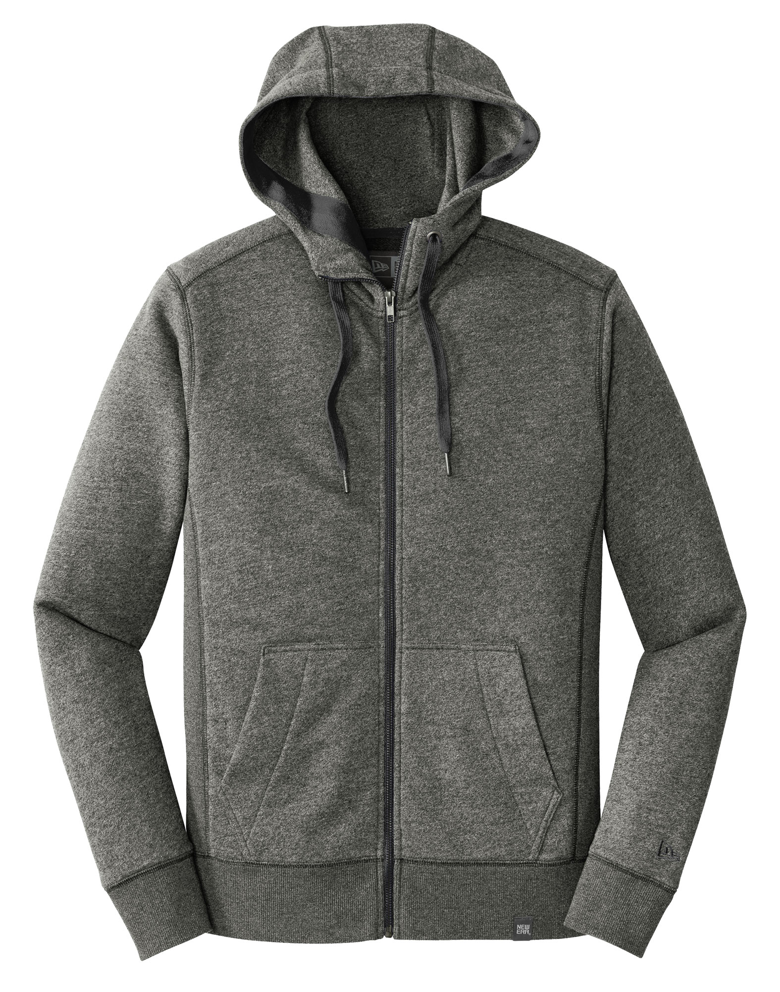 New Era® Mens French Terry Full-Zip Hoodie