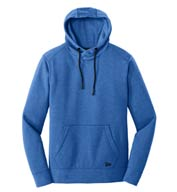 Custom New Era® Mens Tri-Blend Fleece Pullover Hoodie