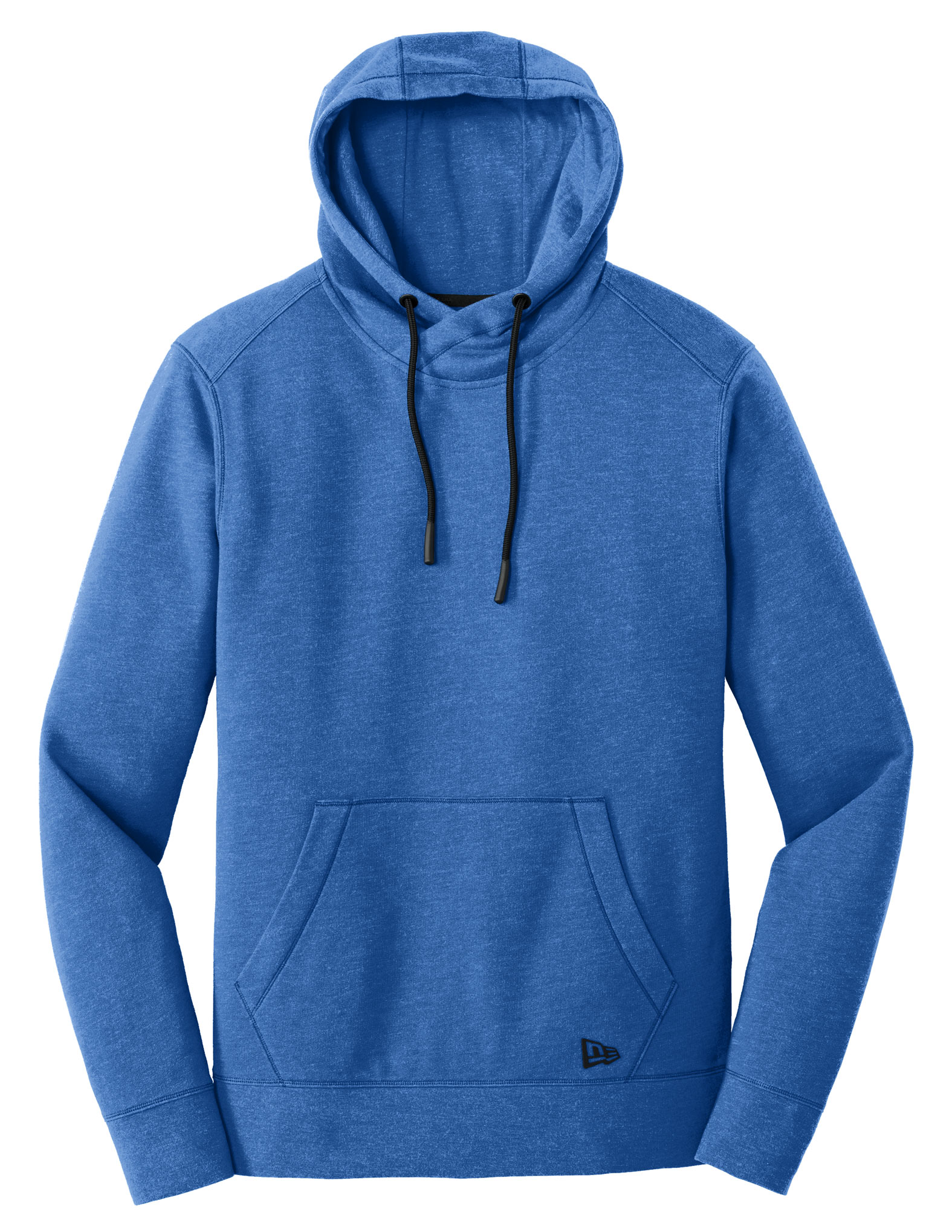 New Era® Mens Tri-Blend Fleece Pullover Hoodie
