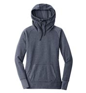 Custom New Era® Ladies Tri-Blend Fleece Pullover Hoodie