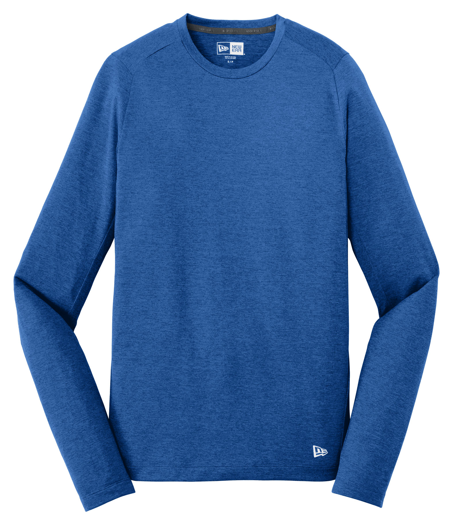 New Era Mens Series Performance Long Sleeve Crew Tee