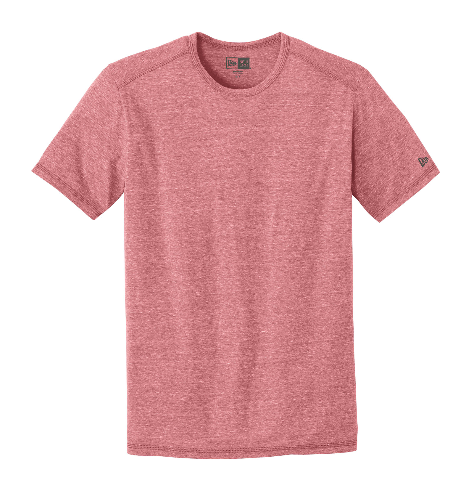 New Era® Mens Tri-Blend Performance Crew Tee