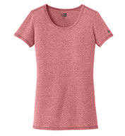 Custom New Era® Ladies Tri-Blend Performance Scoop Tee