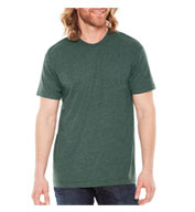 Custom American Apparel Adult Unisex Poly-Cotton Tee
