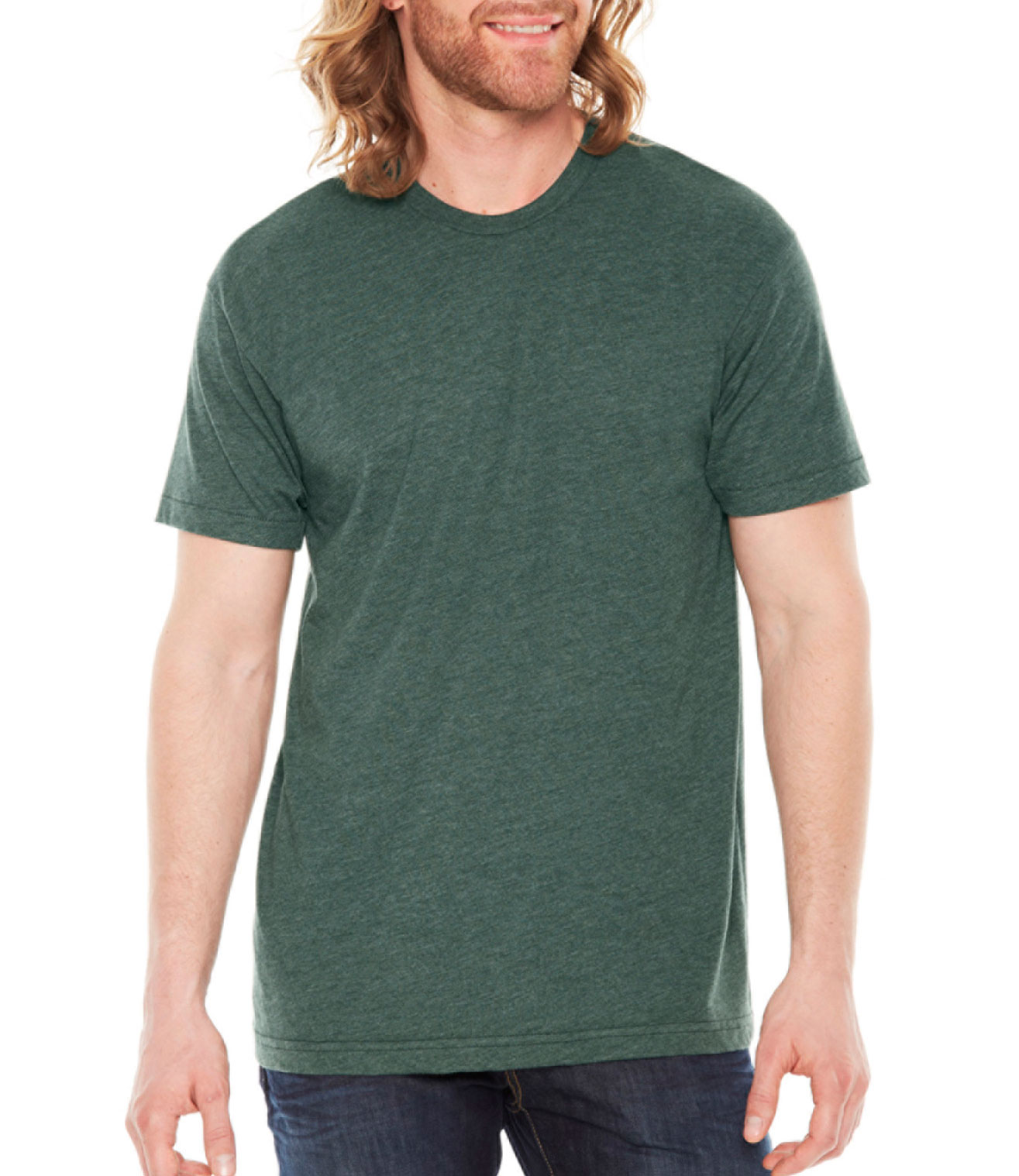 American Apparel Adult Unisex Poly-Cotton Tee