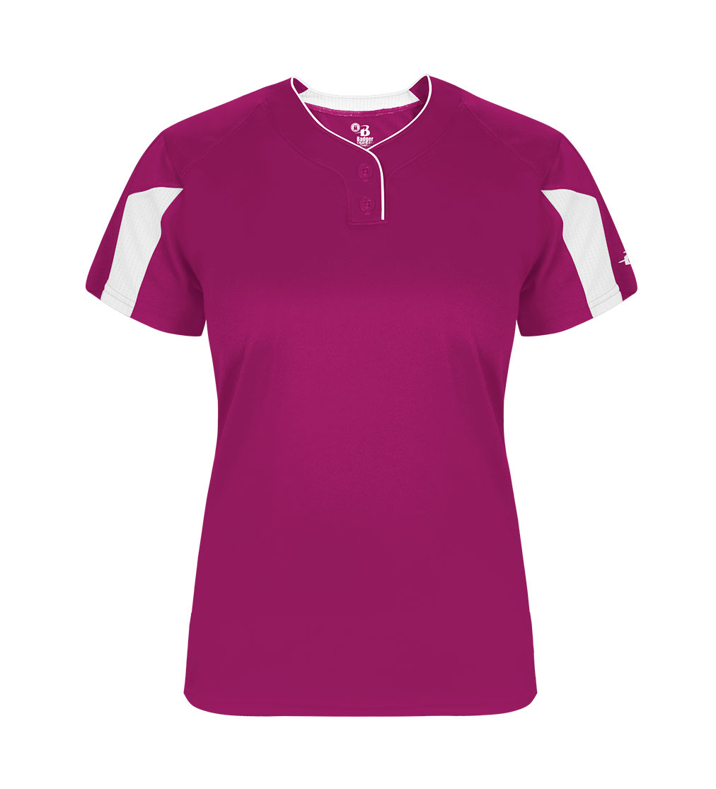 Striker Girls Placket Jersey
