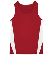 Custom Badger Mens Stride Track Singlet