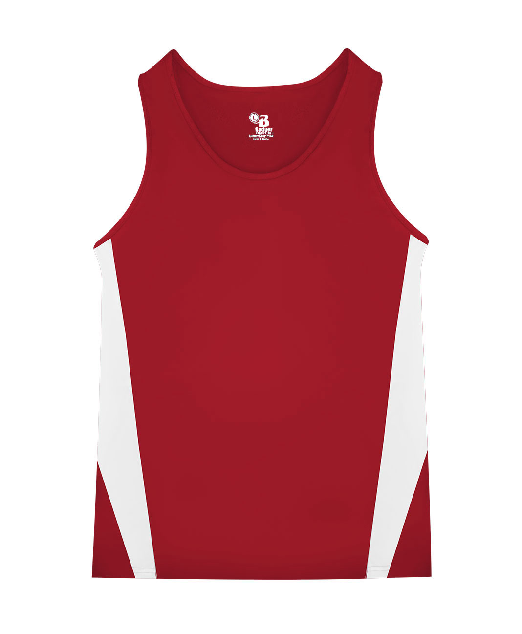 Badger Mens Stride Track Singlet