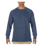 Custom Comfort Colors Adult French Terry Crewneck Pullover