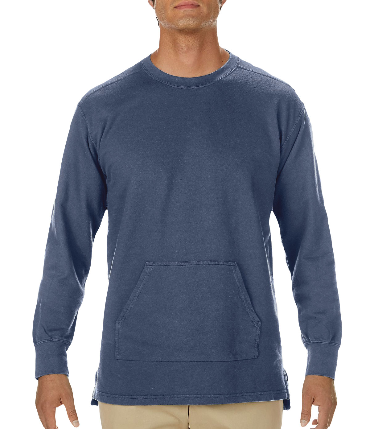 fa11b05de Custom Comfort Colors Adult French Terry Crewneck Pullover