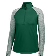 Custom Ladies Axis 1/2 Zip Pullover
