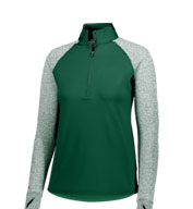 Custom Holloway Youth Girls Axis 1/2 Zip Pullover