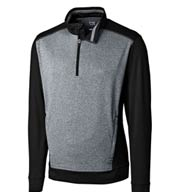 Custom Cutter & Buck Mens Replay Half Zip Pullover