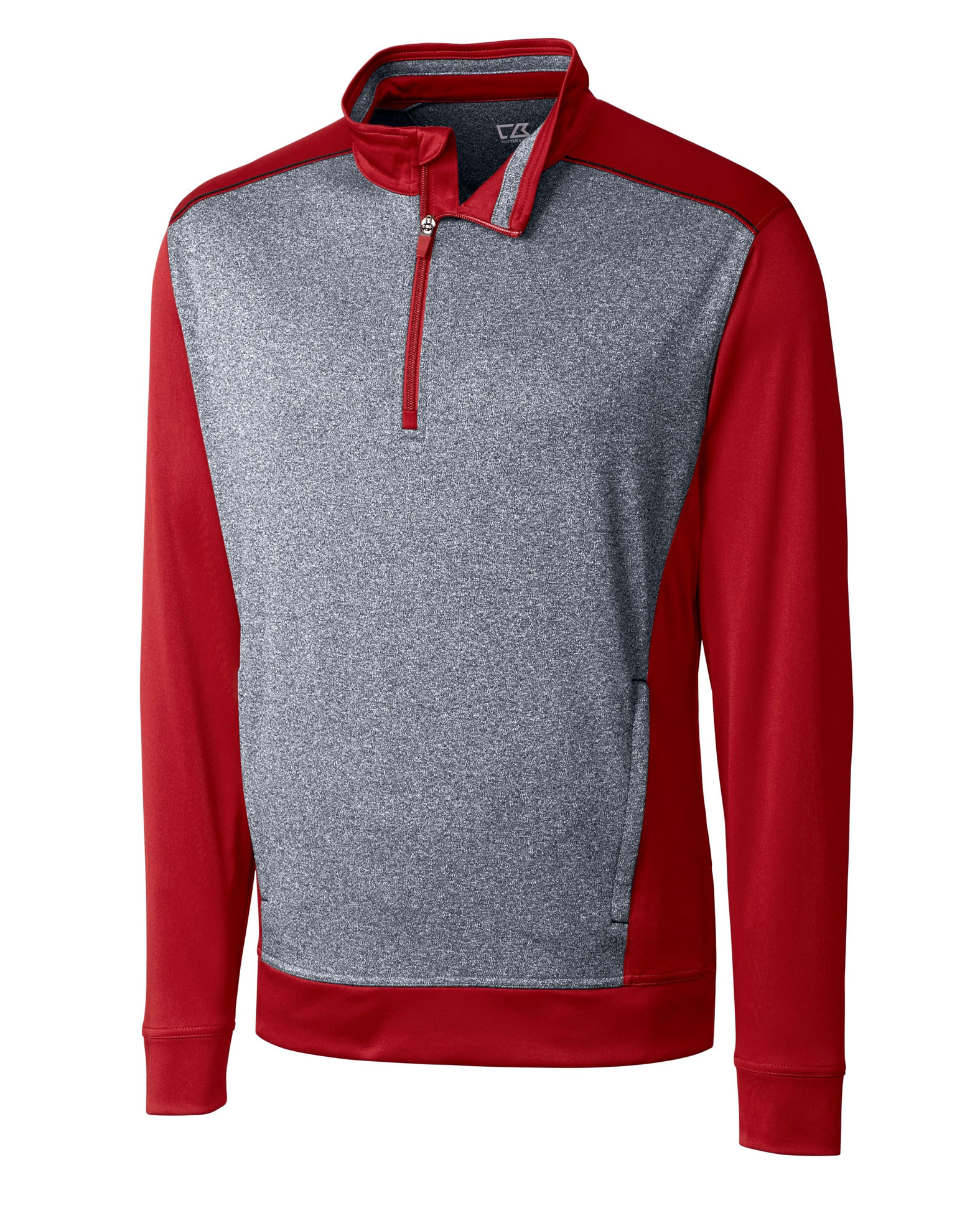 Cutter & Buck Mens Big and Tall Replay Half Zip Pullover