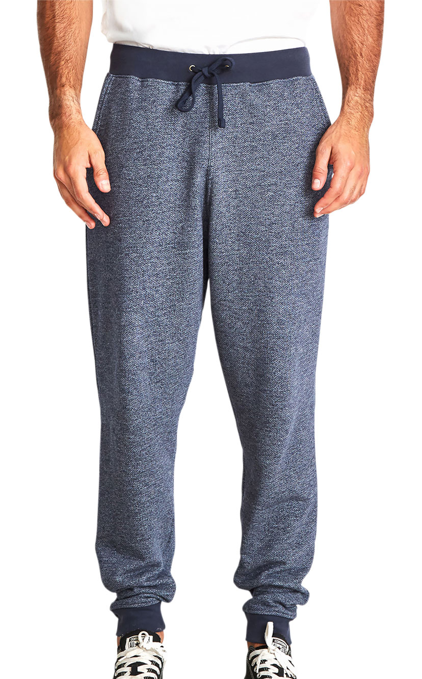 Next Level Mens Denim Fleece Jogger