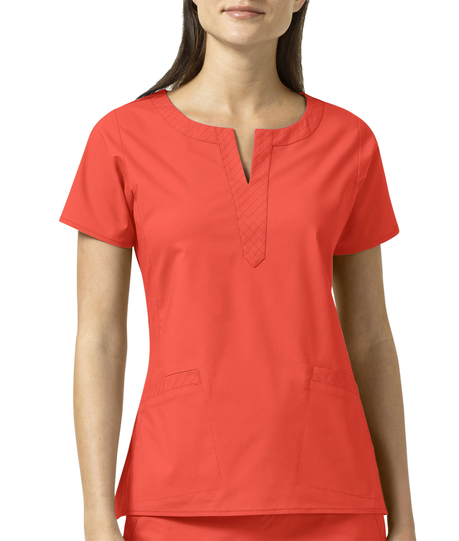 Linda Notch Neck Top By Vera Bradley