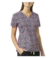 Custom Floral Ditsy Ladies V-Neck By Vera Bradley