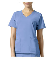 Custom Nettie V-Neck Scrub Top from Vera Bradley