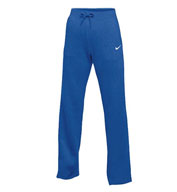Custom Womens Nike Club Fleece Open Hemmed Pant