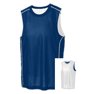 Custom Sport-Tek® PosiCharge® Adult Mesh Reversible Sleeveless Tee