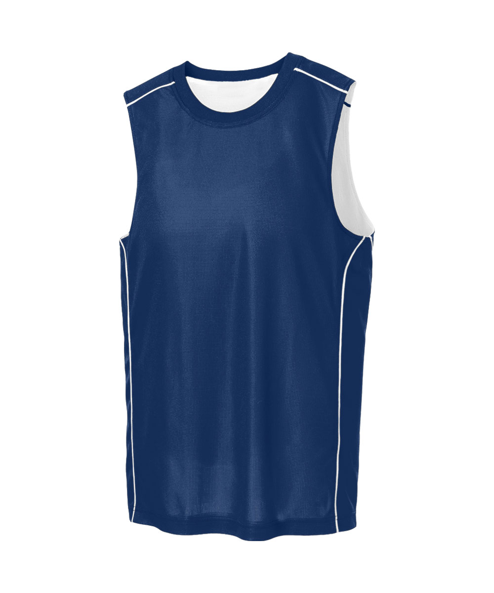 Sport-Tek Youth PosiCharge Mesh Reversible Sleeveless Tee