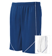 Custom Sport-Tek® PosiCharge® Adult Mesh Reversible Spliced Short