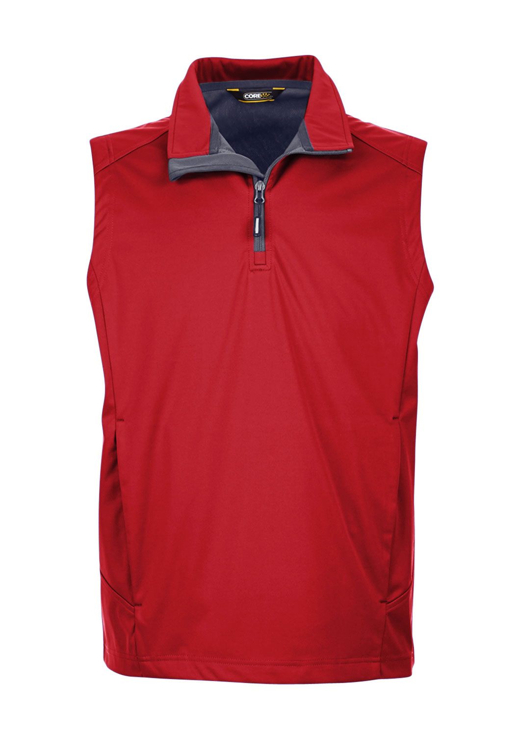 Mens Techno Lite Three-Layer Knit Quarter-Zip Vest