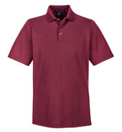 Custom Devon & Jones Mens CrownLux Performance™ Plaited Polo