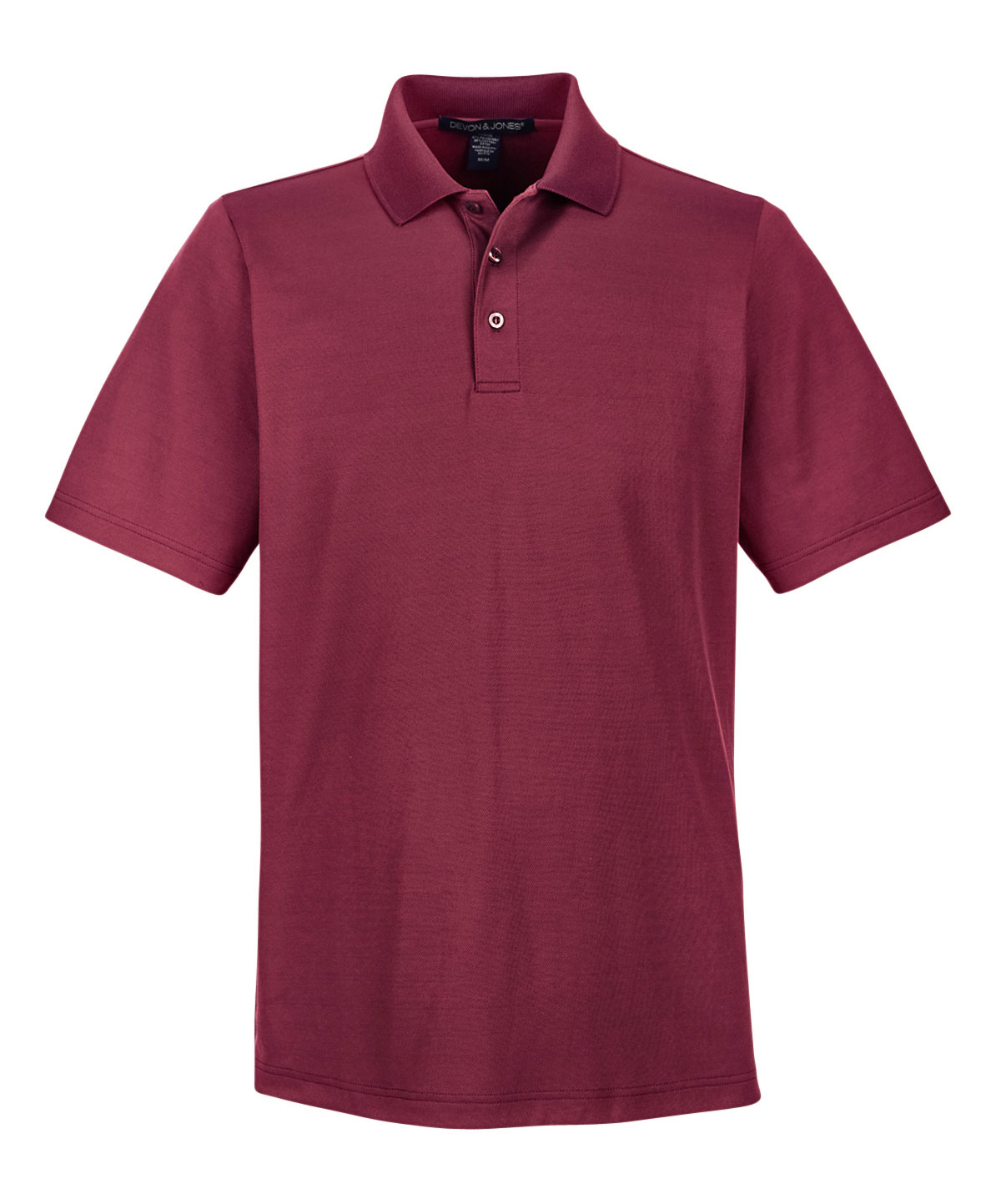 Mens CrownLux Performance™ Plaited Polo