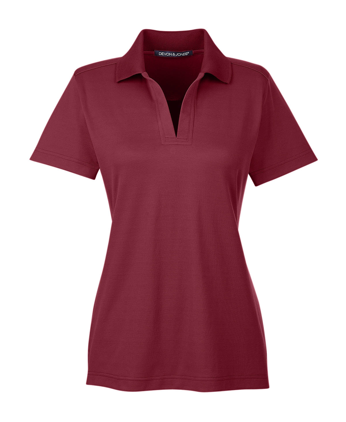 Ladies CrownLux Performance™ Plaited Polo