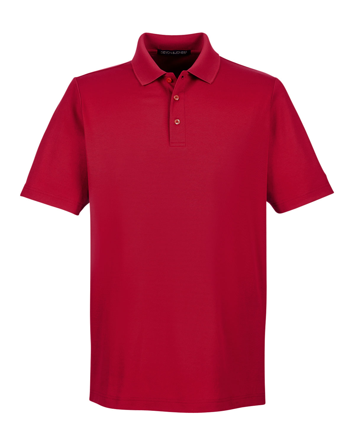 Mens Tall CrownLux Performance™ Plaited Polo