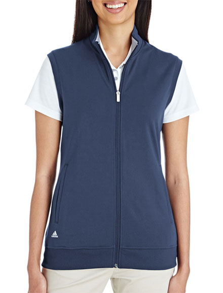 36acb01501ec0 Custom Adidas Golf Ladies Full-Zip Club Vest