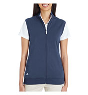 Custom Adidas Golf Ladies  Full-Zip Club Vest