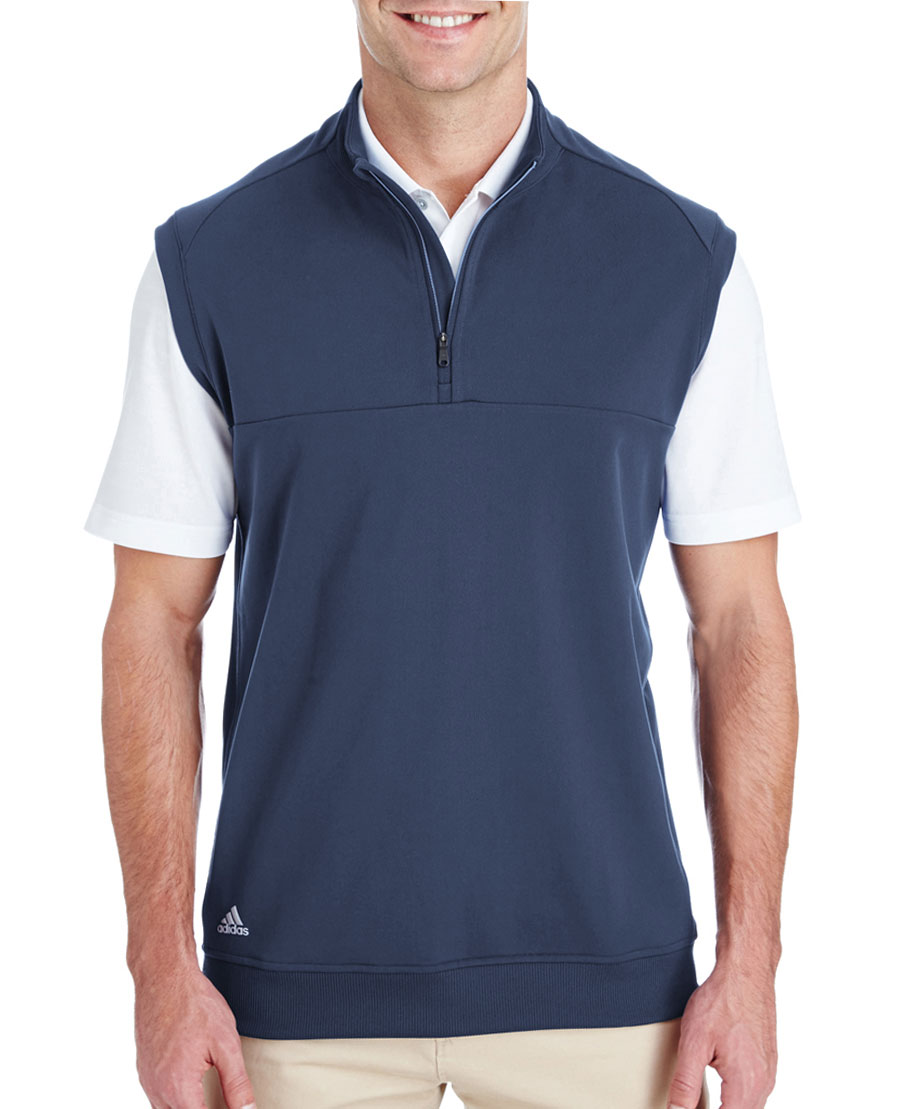 Adidas Golf Mens 1/4 Zip Club Vest