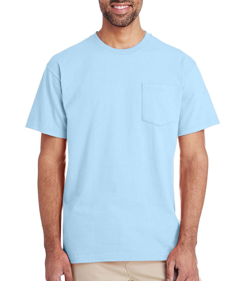 Gildan Mens Hammer Short Sleeve Pocket T-Shirt