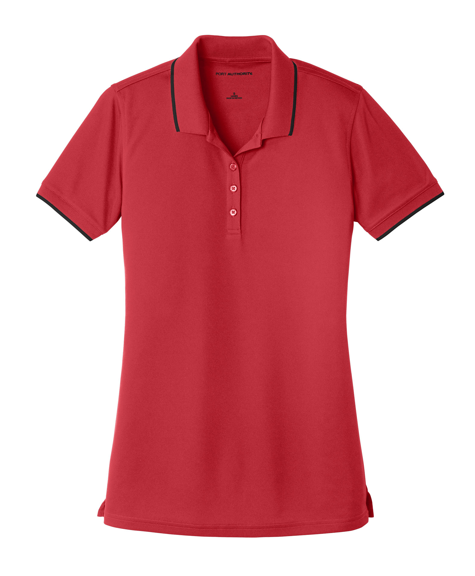 Port Authority® Ladies Dry Zone® UV Micro-Mesh Tipped Polo