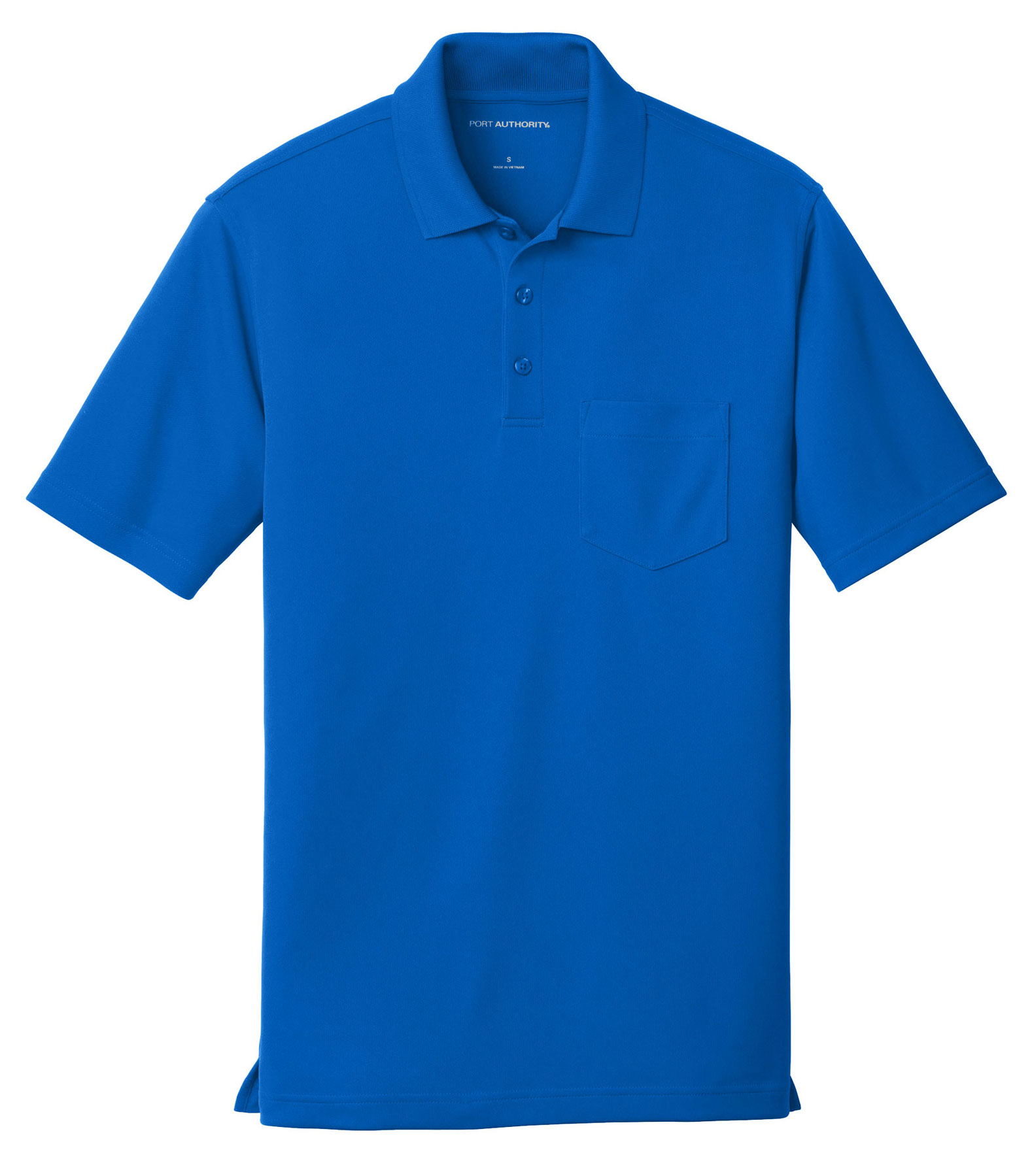 Port Authority® Mens Dry Zone® UV Micro-Mesh Pocket Polo