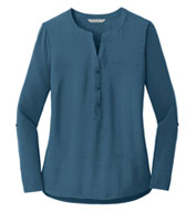 Custom Port Authority® Ladies Concept Henley Tunic