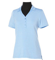 Custom Callaway Ladies Fine Line Core Stripe Polo