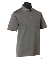 Custom Callaway Mens Jacquard Polo