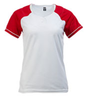 Custom Womens Classic Raglan Sleeve Softball Jersey