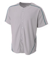 Custom A4 Mens Warp Knit Baseball Jersey